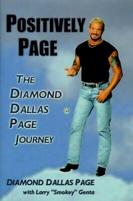 Positively Page: The Diamond Dallas Page Journey by Diamond Book The Cheap Fast