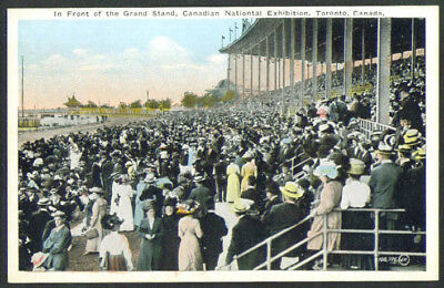 Grand Stand Canadian National Exhibition postcard 1910s