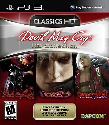 Devil May Cry HD Collection - Playstation 3 Game