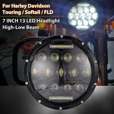 7INCH LED Projector Daymaker Headlight For Harley Electra/Street Glide/Road King