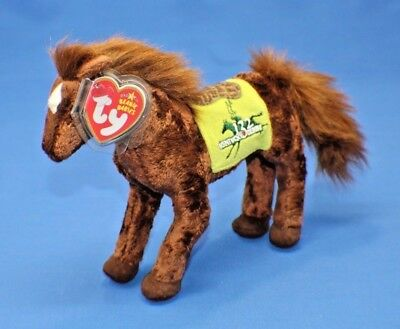"""Ty Beanie Baby Babies ~ """"DERBY 132"""" the KENTUCKY DERBY HORSE ~ Plush ~2006~MWMTs"""