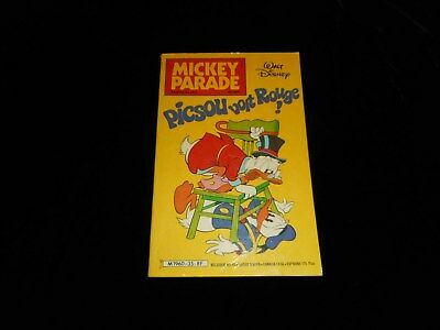 Mickey Parade 35 : Picsou voit rouge