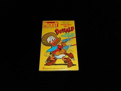 Le journal de Mickey 786 bis : Donald roi du Far-West TBE