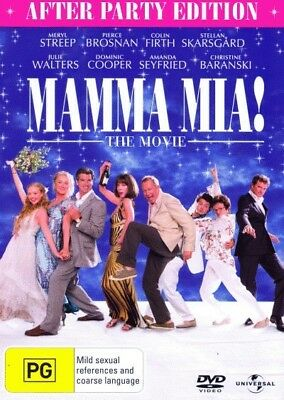 Mamma Mia!: The Movie (After Party Edition) = NEW DVD R4
