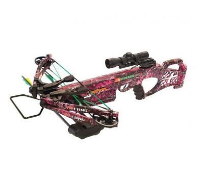 PSE Archery Fang LT Muddy Girl Crossbow Package
