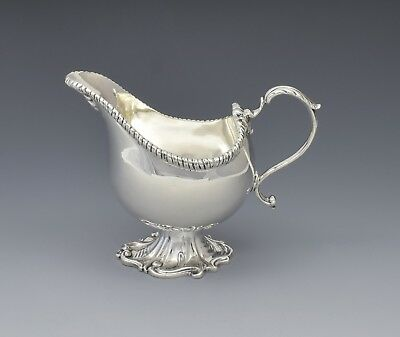 Stylish Silver Pedestal Cream Jug George V Samuel Smith & Co. 1913 Art Nouveau