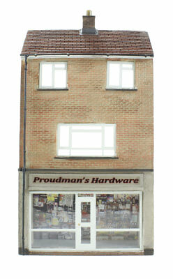 Bachmann Branchline 44-256 Low relief hardware store with maisonette