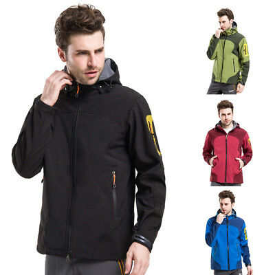 Men Thermal Waterproof Windstopper Soft Shell Jacket Clothes Outdoor Travel Coat