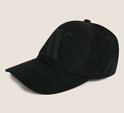 bc66211ea3267 ARMANI EXCHANGE MEN Rubber Logo Baseball cap one size new with tags ...