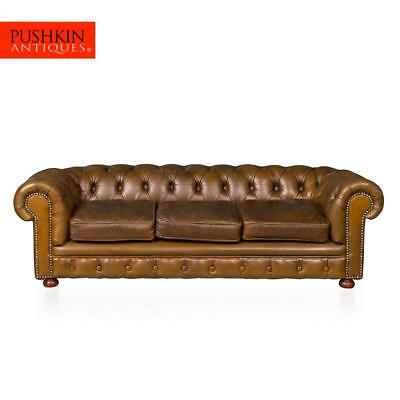 VINTAGE 20thC EXTREMELY RARE MINIATURE CHESTERFIELD SOFA c.1950