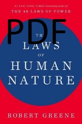 (PDF.EPUB) The Laws of Human Nature By Robert Greene PDF 1 MIN DELIVERY