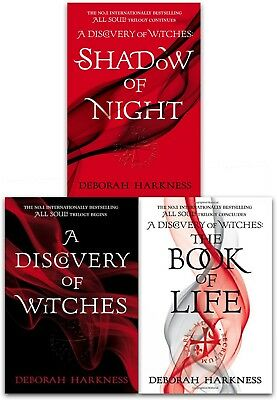 Deborah Harkness All Souls Trilogy 3 Books collection Shadow of Night NEW