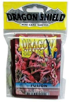 Dragon Shield Fusion 50ct Mini Size Sleeves DSH100 New Dragon Shield
