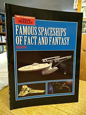 """Famous Spaceships of Fact and Fantasy (Fine... by """"Fine Scale Modeler"""" Paperback"""