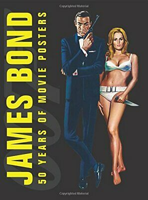 James Bond 50 Years of Movie Posters by DK, DK Book The Cheap Fast Free Post