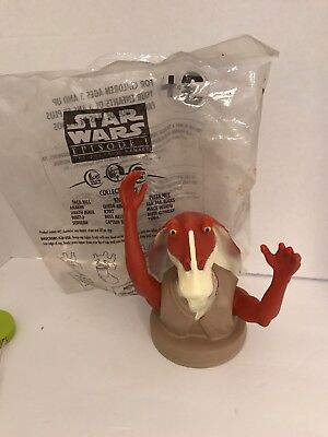 Star Wars Episode 1 KFC/Taco Bell/Pizza Hut Figure Lid Cup Toppers.