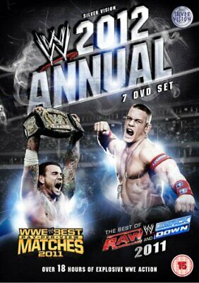 WWE 2012 Annual - Best Of Raw & Smackdown + Best PPV Matches Of T... - DVD  L6VG