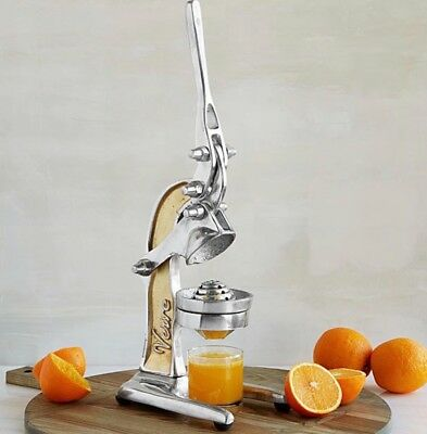 Collectible Silver Countertop Citrus Juicer