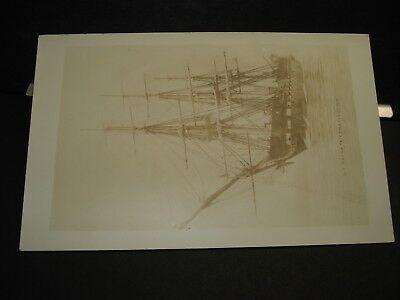Frigate USS CONSTITUTION Naval Cover OLD unused postcard