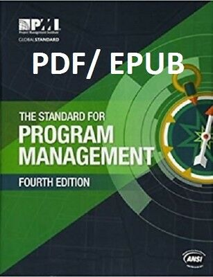 (PDF.EPUB) The Standard for Program Management 4 TH ED  Fast Delivery !