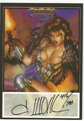Non-Sport Trading Card Singles Witchbade Millennium Joe Jusko  Autograph Card Dynamic Forces /700