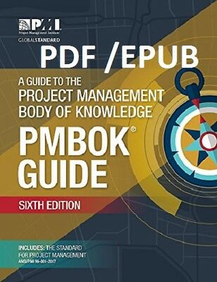 (PDFandEPUB) A Guide to the Project Management Body of Knowledge [6th ed.]