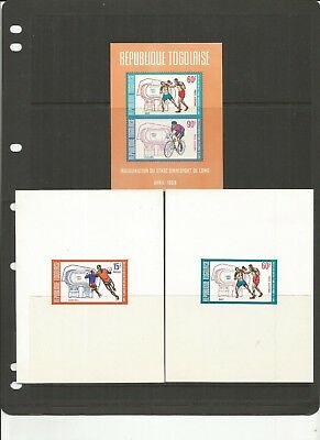 Togo Scott C106A Mnh Sheets Imperf ?????