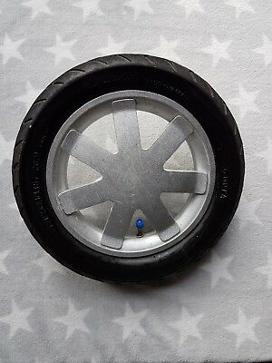 Quinny Buzz Back Rear Wheel with Silver Spokes