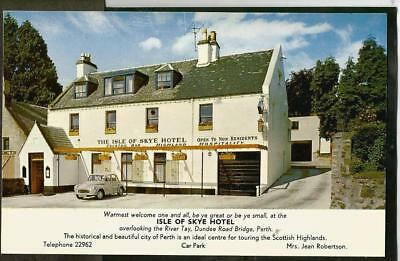 LVL Early Postcard, The  Isle of Skye, Hotel, Dundee Road, Perth.