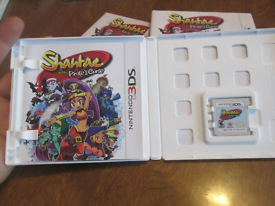 Shantae and the Pirate's Curse Nintendo 3DS COMPLETE  WORKS PERFECTLY