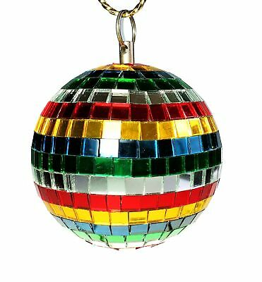 4 in Multi Color Mirror Ball Dance Lumaseries MIB