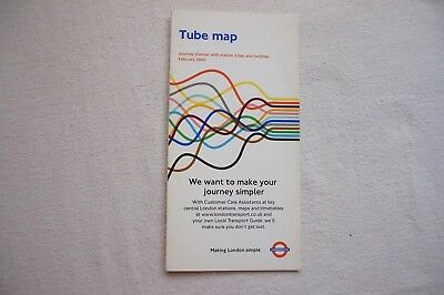 Feb 2000 London Underground Pocket Map Tube Map Marrow Yellow Pages Ad VGC