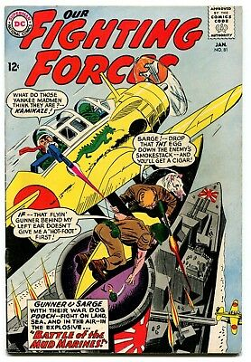 Our Fighting Forces #81 DC Comics 1964 FN 6.0