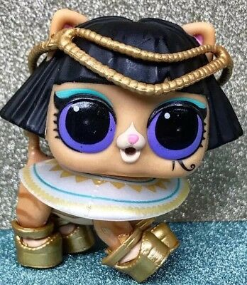LOL Surprise PETS Series4 Wave2 Ancient Meow Cat Kitty Pharaoh Babe Pet Eye Spy