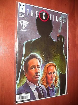 The X-Files # 1 Fried Pie Variant 2016 Idw Comic Vf/near Mint Never Read