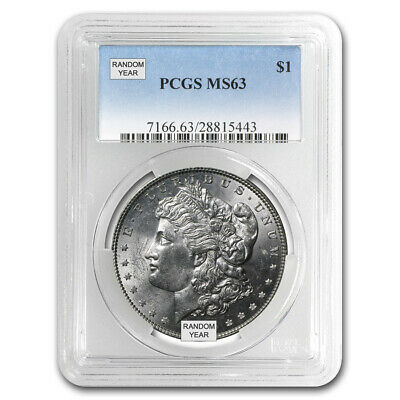 Pre-1921 Morgan Silver Dollars MS63 - Professionally Graded PCGS/NGC