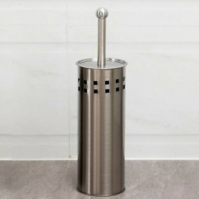 New Stainless Steel Toilet Brush Holder Set, Toilet Brush With Hygienic Lid 2019