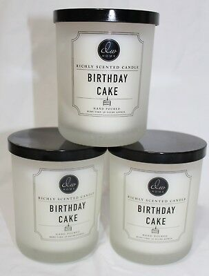 DW Home Birthday Cake Richly Scented 2 Wicks Candle