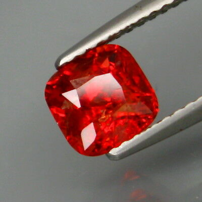 1.71Ct.Best Color! Natural Shimmering Fiery Red Lustrous Spinel MaeSai,Thailand