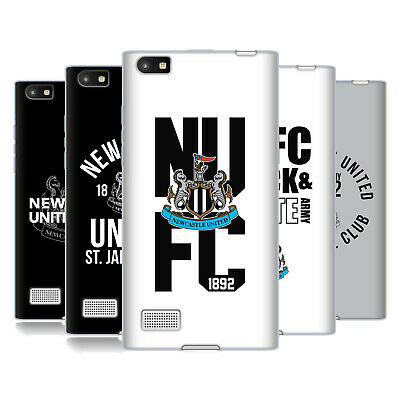 Newcastle United Fc Nufc 2018/19 Crest Typography Gel Case For Blackberry Phones