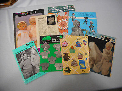 #t69.   Seven(7) Sewing & Knitting Books