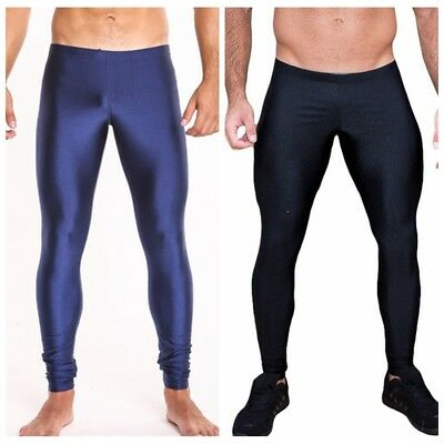 Mens Gym Compression Sports Trousers Workout Skinny Legging Tight Running Pants
