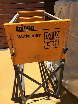 Triton Workcentre  Frame, Table Top, Fence,And Router Table. No Saw