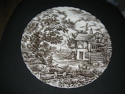The Hunter by Myott - Vintage 12 inch serving plate