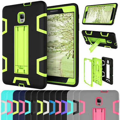For Samsung Galaxy Tab A 8.0 T380 T385 Shockproof Rugged Stand Armor Cover Case