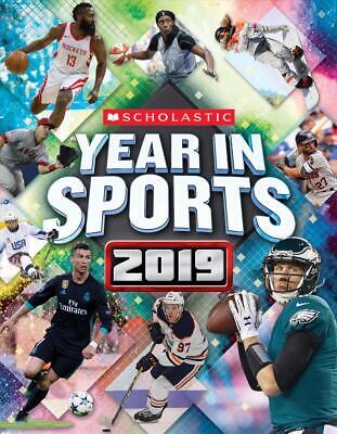 Scholastic Year in Sports 2019 by James Buckley Jr. (English) Paperback Book Fre