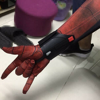 New Spider-Man Homecoming Spiderman Peter Parker Web Shooter Cosplay Prop Gifts