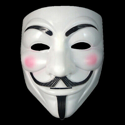 Guy Fawkes Maske V Vendetta Anonymous Occupy Cosplay Halloween Karneval