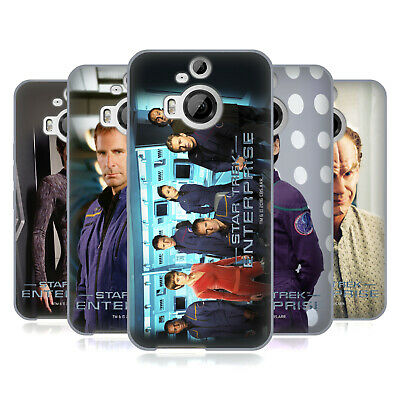 Official Star Trek Iconic Characters Ent Soft Gel Case For Htc Phones 2