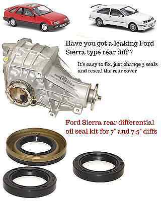 FORD SIERRA inc COSWORTH DIFF DIFFERENTIAL OIL SEAL KIT